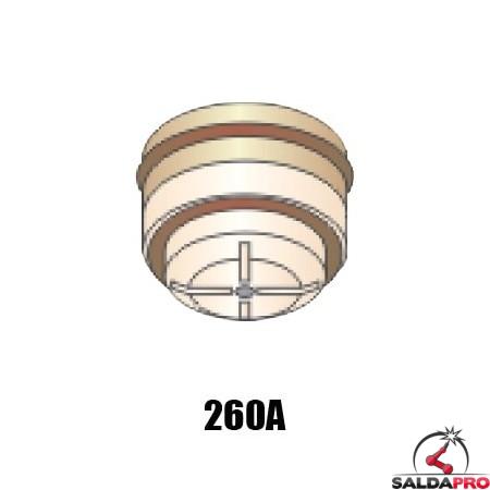ugello.120 gas N2 260A ricambio torcia taglio plasma pac500 hypertherm 020050