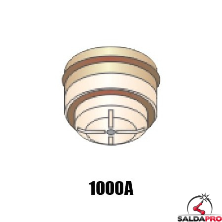 ugello .250 gas N2 1000A ricambio torcia taglio plasma pac500 hypertherm 020047