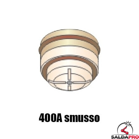ugello .166 gas N2 smusso 400A ricambio torcia taglio plasma pac600 pac620 ht4001 hypertherm 120387