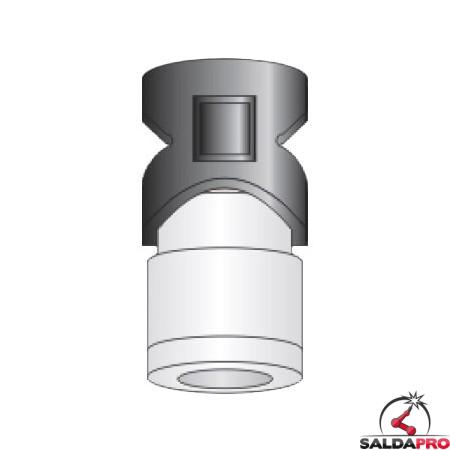 protezione esterna tipo ti40  ricambio torce taglio plasma saf-fro modello cp40r cp100r