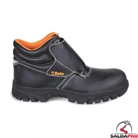 scarpe antinfortunistiche saldatore beta in pelle stampata taglia 35-48 antiscivolo anticalore idrorepellenti