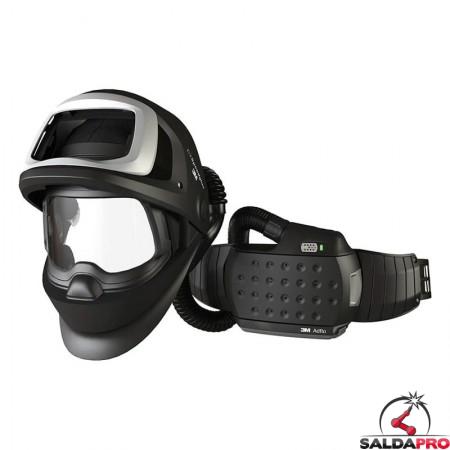 casco da saldatura speedglas 9100fx air 3m con respiratore adflo 547700