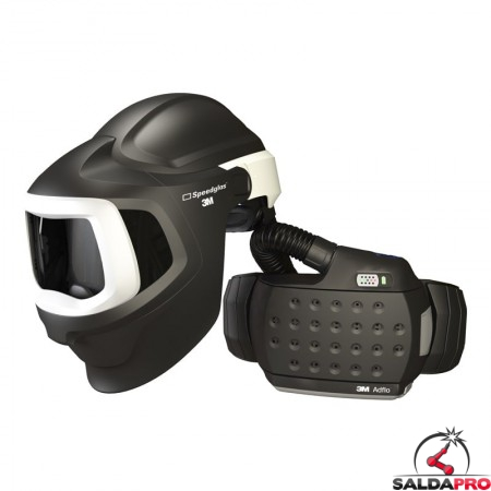 casco da saldatura speedglas 9100mp air 3m con respiratore adflo 577700