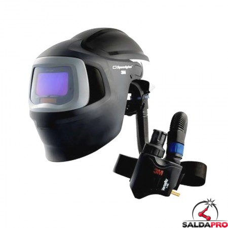 casco da saldatura speedglas 9100mp air 3m con regolatore v500e 578815