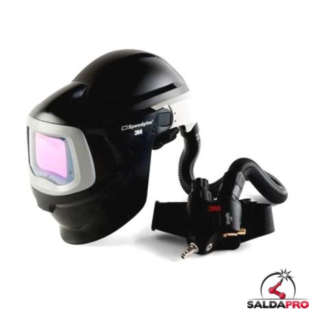 casco da saldatura speedglas 9100mp adf 3m  con regolatore v500e 578825