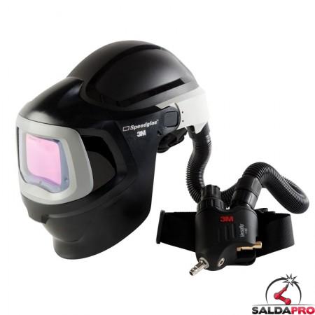 casco da saldatura speedglas 9100mp senza adf 3m con regolatore v500e 578800