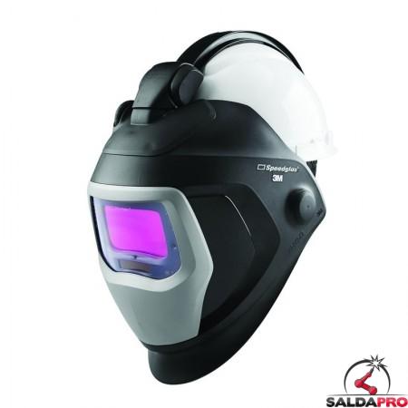 casco da saldatura speedglas 9100QR con filtro adf 9100XX 3M 583625