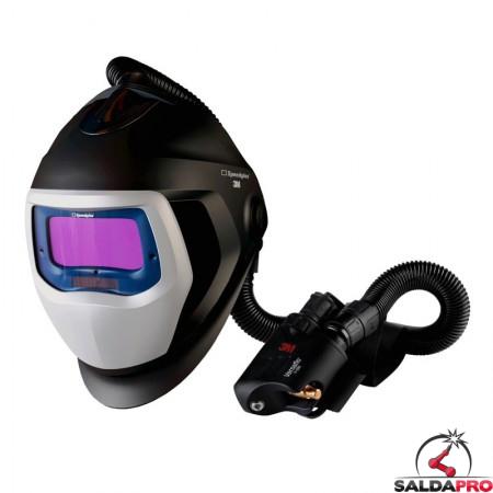 casco da saldatura speedglas 9100 air filtro adf 9100XXi 3m con regolatore v500e 568526