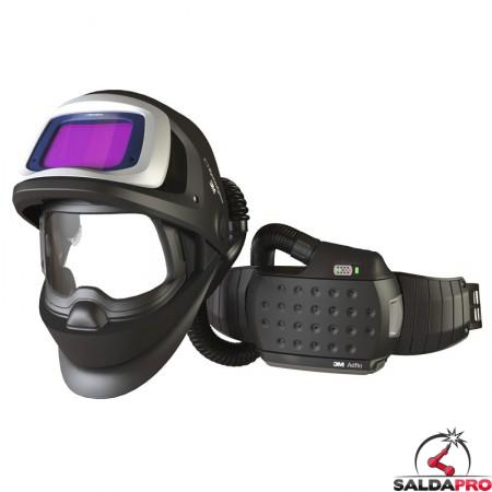 casco da saldatura speedglas 9100FX air filtro adf 9100X e respiratore Adflo 3M 547715