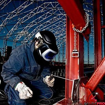 cantiere casco saldatura speedglas 9100MP con filtro adf9100XX