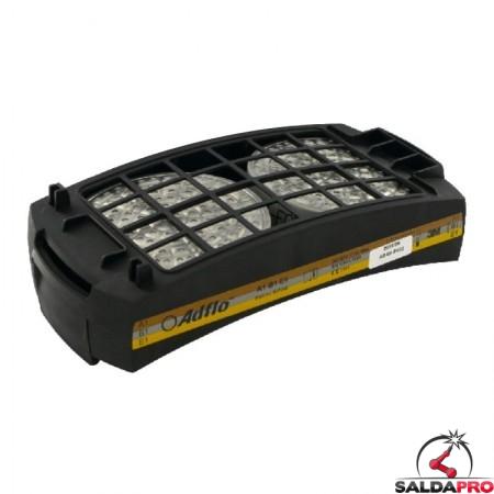 filtro gas A1B1E1 ricambio per respiratore Adflo 3M 837242