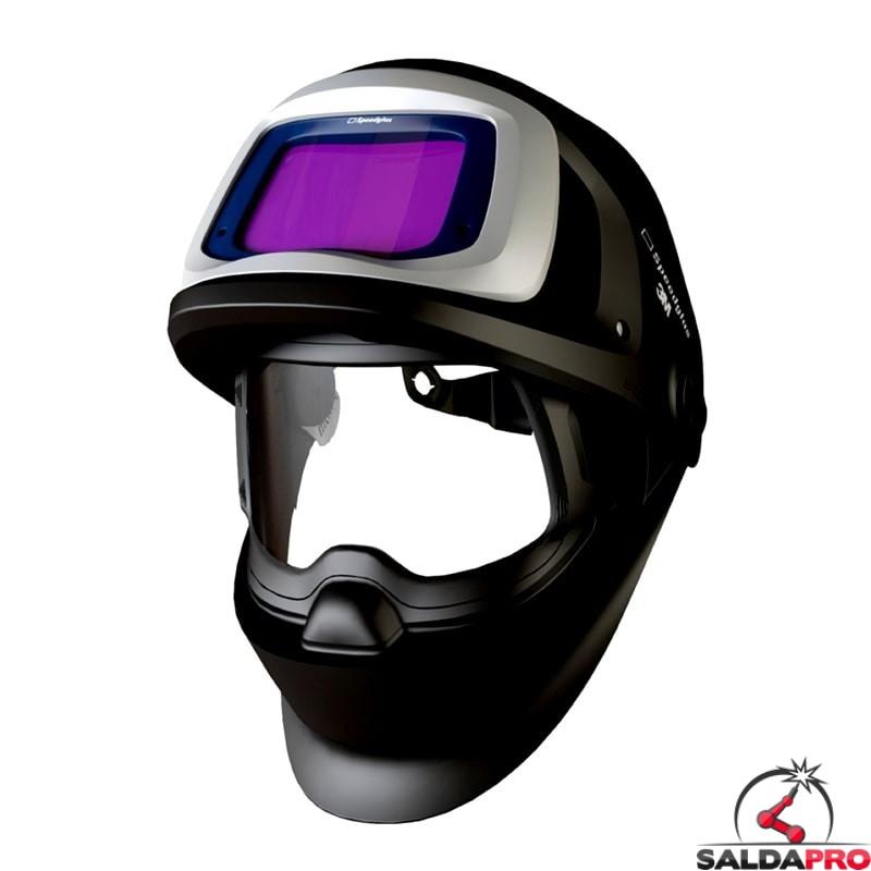 maschera 3m con visiera