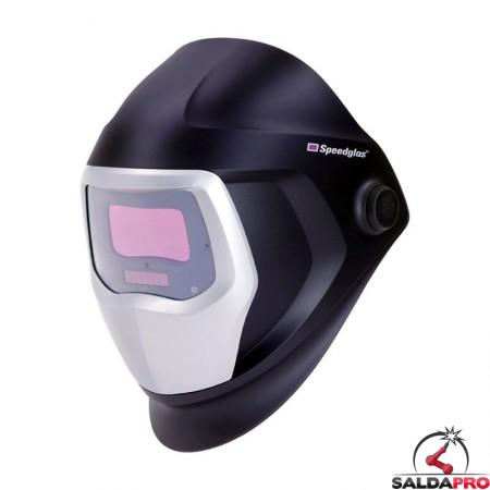 casco da saldatura Speedglas 9100 con filtro adf 9100V 3M 501105 senza finestre laterali
