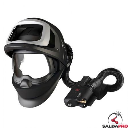 casco da saldatura speedglas 9100fx air 3M con regolatore versaflo v500e 548800