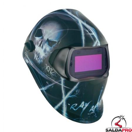 casco da saldatura Speedglas Xterminator 100V filtro autoscurante DIN 8-12 3M 752220