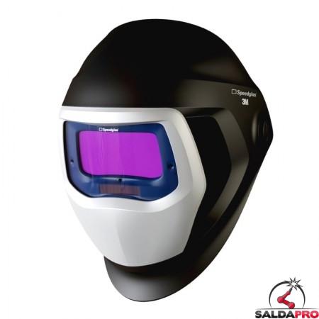 casco da saldatura Speedglas 9100 con filtro adf 9100V 3M 501805 con finestre laterali