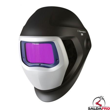 casco da saldatura Speedglas 9100 con filtro adf 9100XX 3M 501825 e finestre laterali