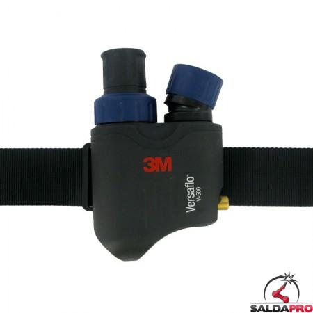 regolatore di flusso 3M Versaflo V-500 con cintura