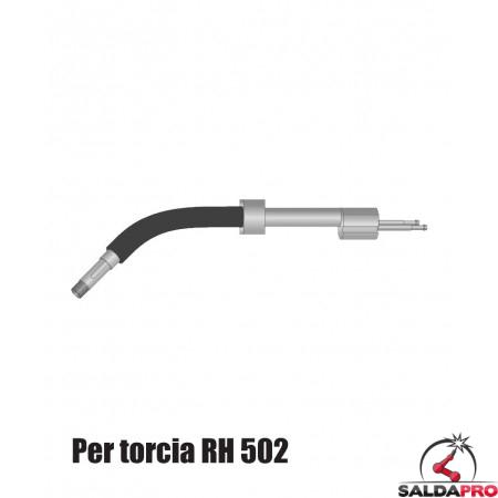 Corpo torcia STD. con e senza portaugello per torcia RH 502