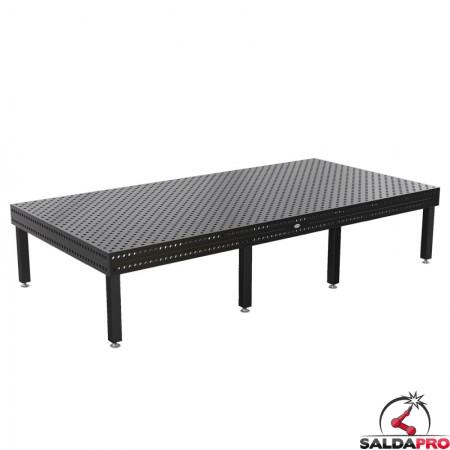 tavolo da saldatura siegmund professional extreme 8.8 System 28 - 4000x2000 mm