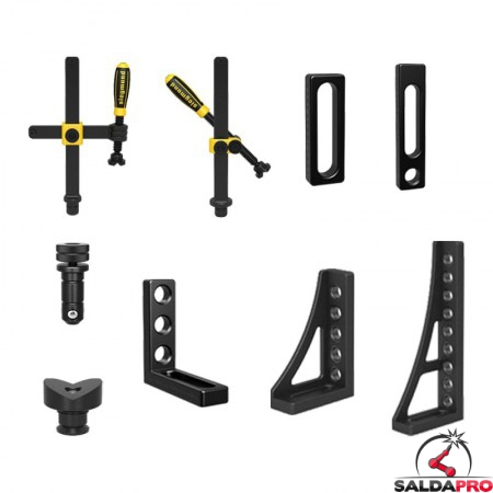 accessori di serraggio tavoli saldatura Siegmund System 28 32 pezzi