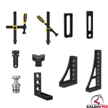 accessori di serraggio tavoli saldatura Siegmund System 28 56 pezzi