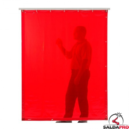 tenda di saldatura larghezza 140cm arancione T4