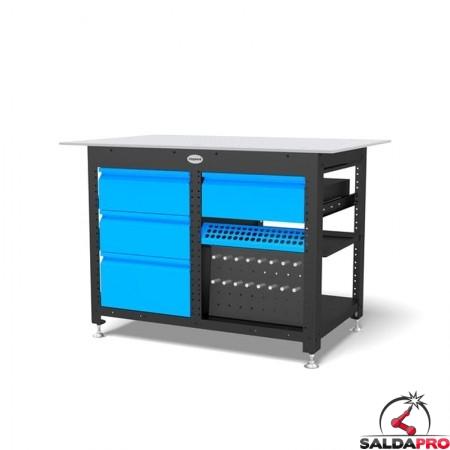 workstation siegmund professional extreme 8.7 system 16 1200x800mm con cassetti