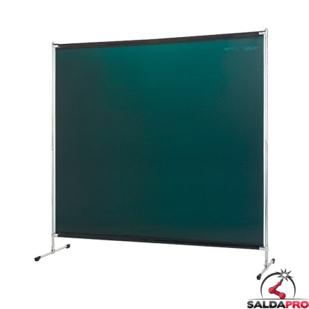 schermo di saldatura gazelle verdechiaro T6 200x200 cm
