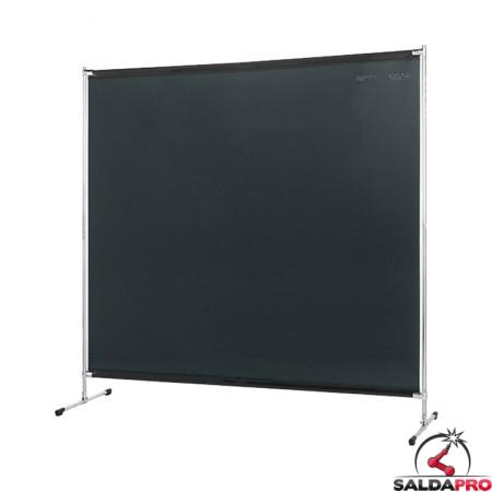 schermo di saldatura gazelle verde scuro T9 200x200 cm