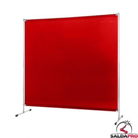 schermo di saldatura gazelle arancione T4 200x200 cm cepro