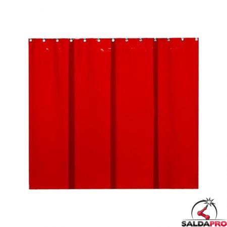 strisce in PVC 570x1 mm arancione T4 per schermi saldatura cepro