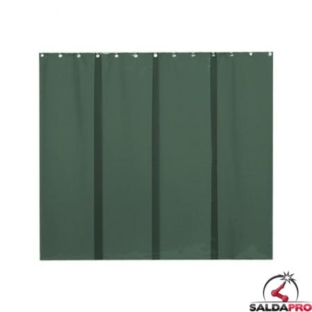 strisce in PVC 570x1 mm verde scuro T9 per schermi saldatura cepro