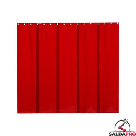 strisce in PVC 500x0,4 mm arancione T4 per schermi saldatura cepro