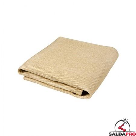 coperta antispruzzo sirius in fibra di vetro resistente fino a 1000°C cepro