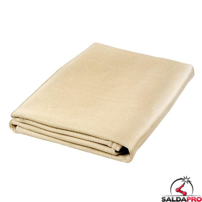 coperta anticalore antispruzzo Olympus in fibra di silice resistente 1000°C cepro