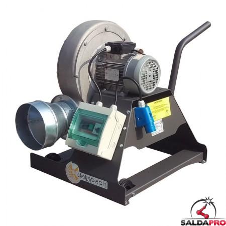 aspiratore carrellato mouse 3 portata 1800mc/h Dalpitech