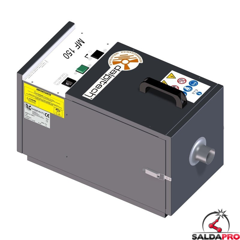 depuratore mobile a cartucce MF-150 portata 250mc/h Dalpitech