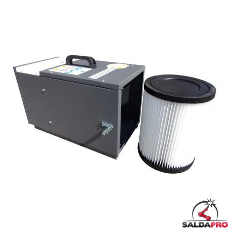 depuratore mobile MF-150 Dalpitech con cartuccia