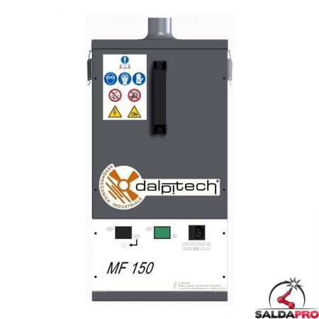 fronte depuratore MF-150 Dalpitech