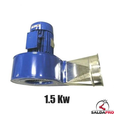 Elettroventilatore centrifugo 1.5 Kw per bracci aspiranti Aspirex Dalpitech