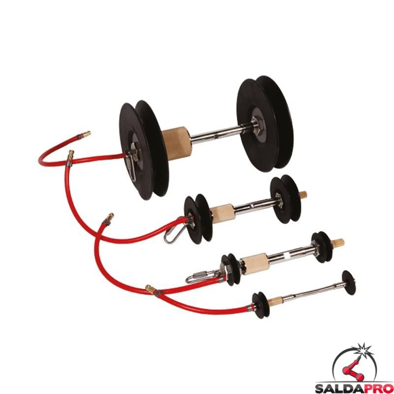 sistema inertizzazione DOuble Seal 16-320 mm Tag Pipe tubo rigido