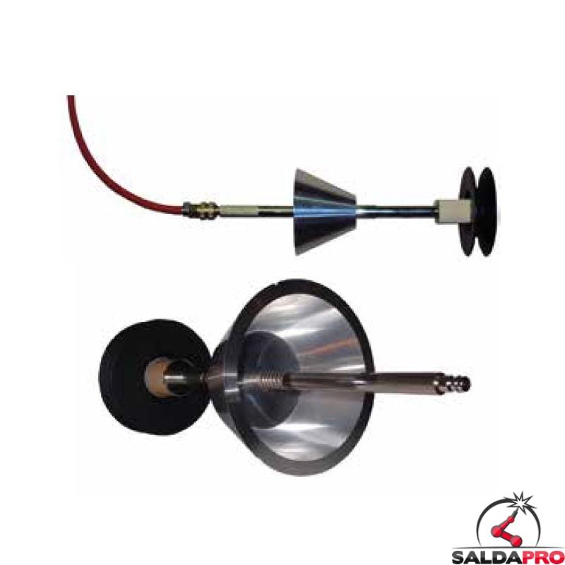 Sistema di inertizzazione Double Seal per flange 16-320mm Tag-Pipe
