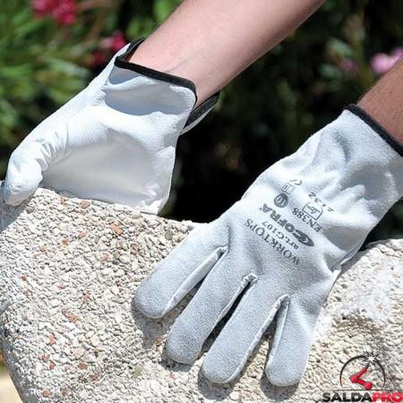 dettaglio guanti per saldatura Cofra WorkTops