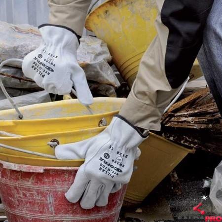 dettaglio guanti per saldatura Cofra Pillar