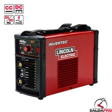 saldatrice invertec 165S lincoln electric 230V per saldatura MMA ad elettrodo e tig