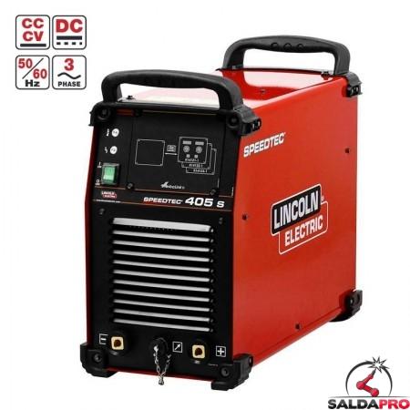 saldatrice multiprocesso Speedtec 405S Linconl electric con sistema di raffreddamento ad acqua