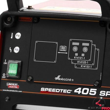 pannello di controllo saldatrice multiprocesso speedtec 405SP Pulse di Lincoln Electric