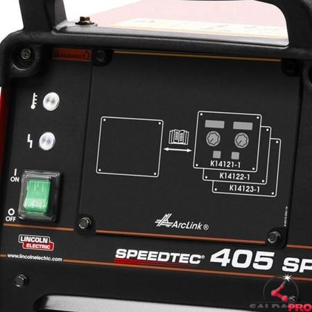 Pannello di controllo saldatrice Speedtec 405SP Pulse di Lincoln Electrics