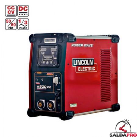 saldatrice Power Wave S500 multiprocesso e mig pulsato Lincoln Electric
